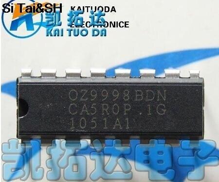 1PCS  OZ9998BDN OZ9998HDN    DIP16  Integrated Circuit