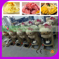 Automatische kommerziellen schneeflocken eis brecher rasiert maschine Obst saft shop elektrische smoothies-in Küchenmaschinen aus Haushaltsgeräte bei