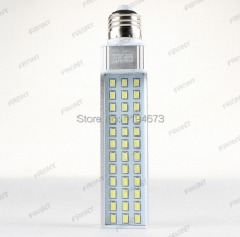 DHL free shipping 13W SMD 5730 36 LED E27 G24 Corn Light Lamp Led bulb spotlight white/warm white led light wholesale