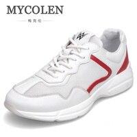 MYCOLEN новый список дышащая Для мужчин повседневная обувь кроссовки модные кроссовки для Для мужчин Туфли без каблуков Повседневное сетки об