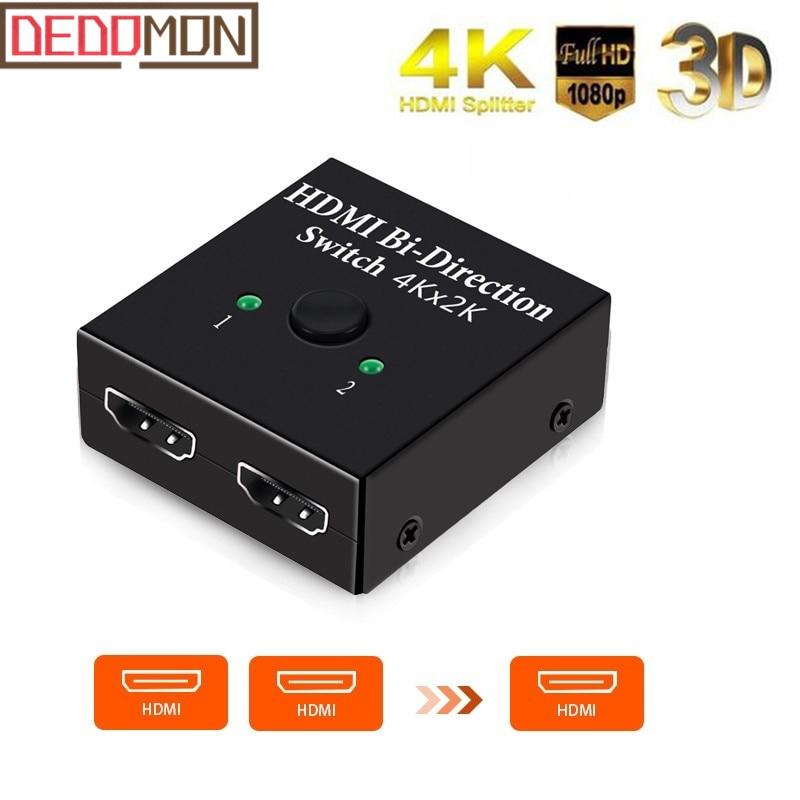 4 outUltra HD 4K//2K @ 60Hz Expert Connect 1x4 HDMI Splitter4 Port1 in