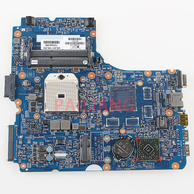 PAILIANG Laptop motherboard for HP Probook 445 G0 455 G0 PC Mainboard 722824-001 48.4zc04.011 full tesed DDR3PAILIANG Laptop motherboard for HP Probook 445 G0 455 G0 PC Mainboard 722824-001 48.4zc04.011 full tesed DDR3