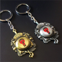FANTASTIC BEASTS AND WHERE TO FIND THEM KEYCHAIN CAR PENDANT ALLOY JEWELRY KEY HOLDER LLUVIA KEYRING