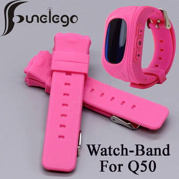 Funelego Smart Watch Strap For kids Watch Accessories 18mm Chlidren Watch Band For Q50 Y3 image