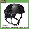 NIJ IIIA FAST Ballistic Helmet With Report Ops Core FAST Ballistic Helmet  Military Bulletproof Helmet