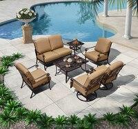 Sofa set Cast-aluminum restaurant outdoor furniture patio furniture garden furniture leisure seater furniture
