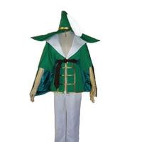 AnimeMagi: The Labyrinth of Magic cosplay Yunan cos Halloween Unisex set (top+pants+belt+hat+leg covers)