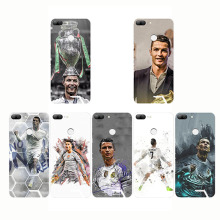 Football Pattern Cristiano Ronaldo CR7 Design Soft Silicone Phone Cases Cover for huawei Mate 9 10 20 lite Pro Honor 8 lit
