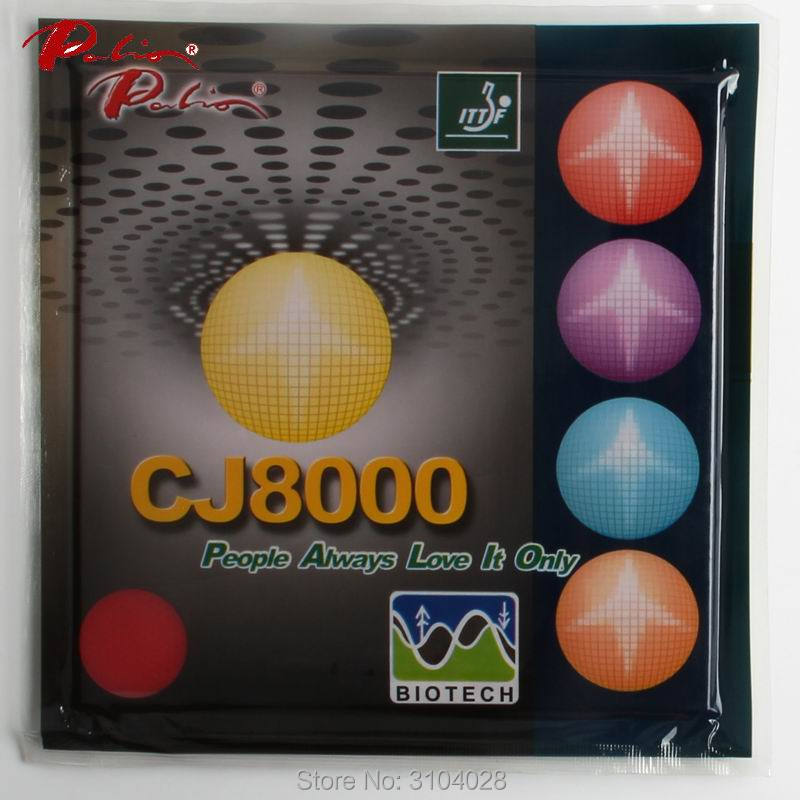 <font><b>palio</b></font> official long term <font><b>CJ8000</b></font> 40-42 table tennis rubber <font><b>BIOTECH</b></font> technilogy fast attack with loop sticky table tennis racket image