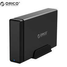 ORICO NS100U3 Алюминиевый HDD Док-Станция Корпус USB3.0 SATA3.0 Жесткий Диск Коробка UASP Поддержка 12 В Мощность МАКС 10 ТБ емкость