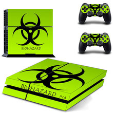 Resident Evil PS4 Skin Sticker Decal Vinyl for Playstation 4 Console and 2 Controllers PS4 Sticker