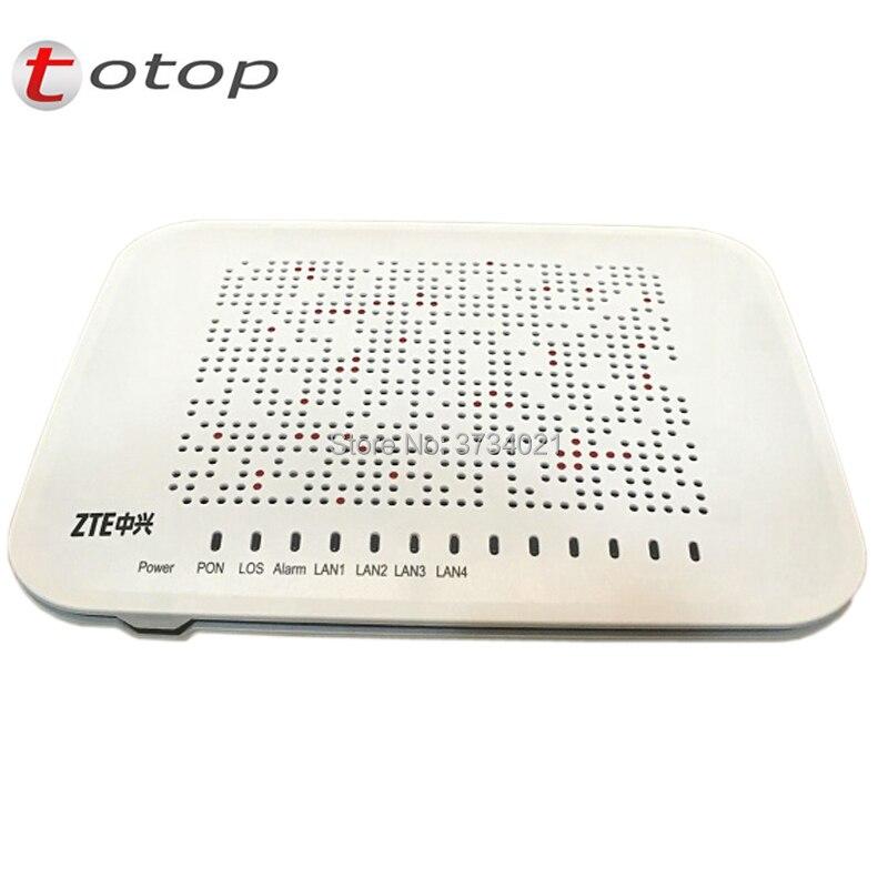 2Pcs/Lot ZTE F660 Latest Version 3 0 ZTE GPON terminal ZXA10 F660 ONU ONT  With 4FE 2TEL USB WIFI