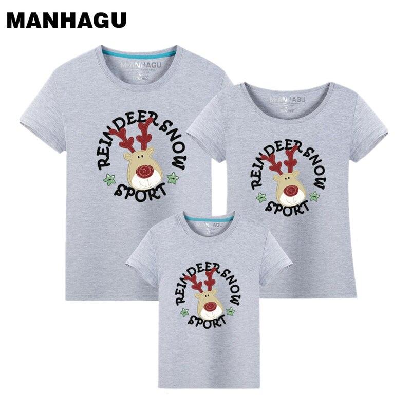 Navidad Family Look Trajes a juego de la familia Camiseta Color Milu - Ropa de ninos