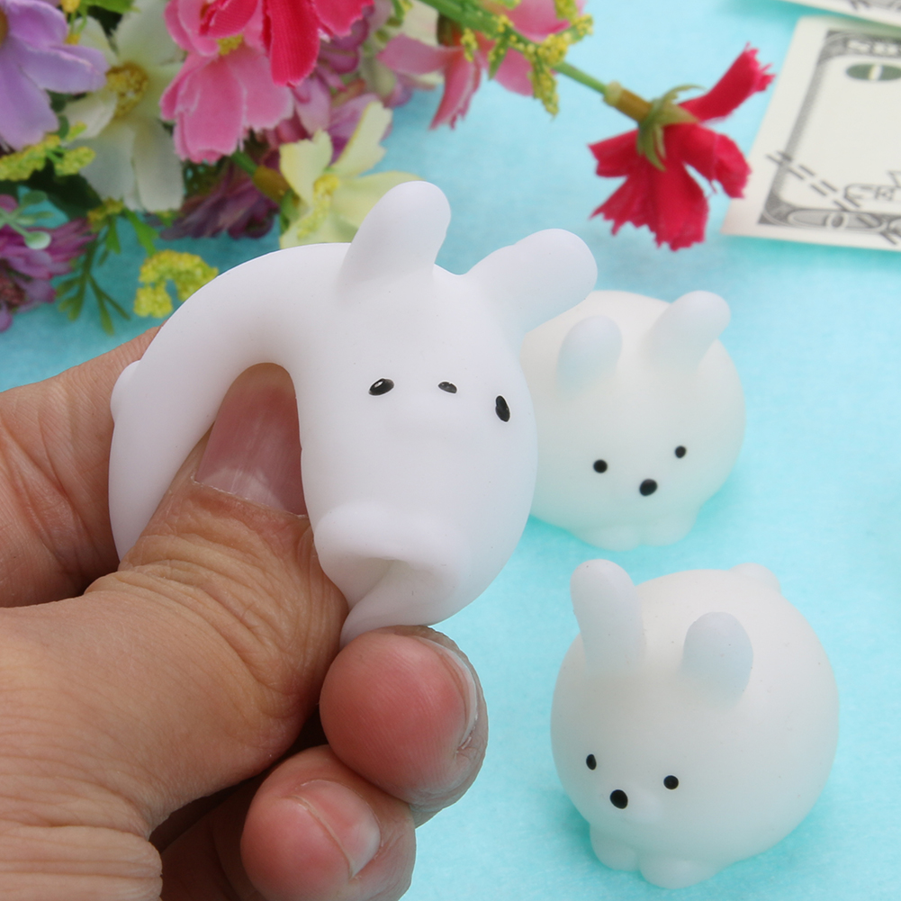 Anti stress Squeeze Ball Toy Seals Owl Emotion Vent Ball Resin Doll Antistress Stress Reliever