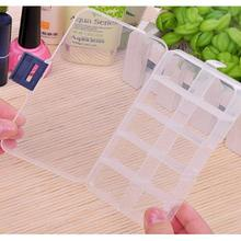 New Plastic 10 Slots Compartment Jewelry Necklace big Storage Box Case Holder Container,hot selling