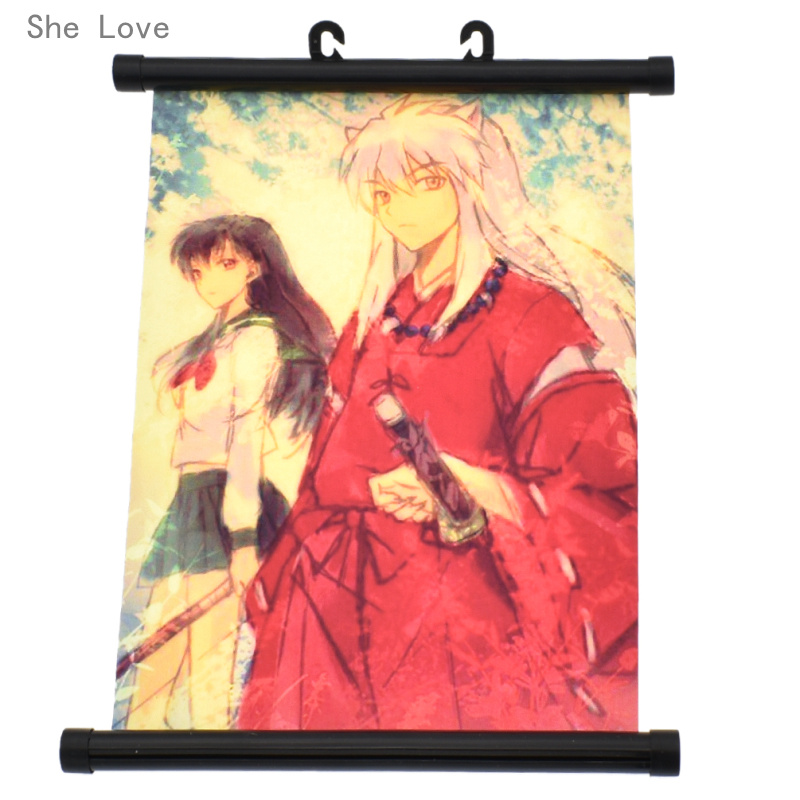100 Ideas To Try About Inuyasha: She Love Japan Inu Yasha Inuyasha Wall Scroll Painting