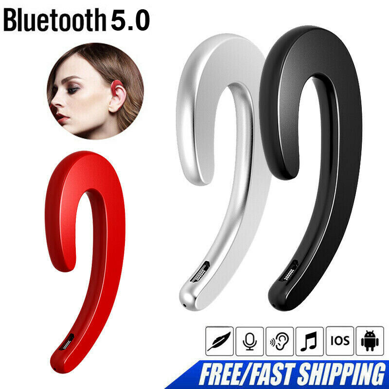 Bluetooth 5.0 Bone Conduction Headphones Sports Stereo Wireless Earphone Headset