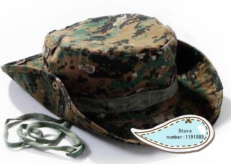 MARINES USMC VETERAN 100/% Cotton Military Boonie Bush Hiking Outdoor Hat U.S