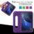 Niños abandonan la resistencia eva portátil tablet pc protectora para samsung galaxy Una ficha de 7.0 T280 T285 T280N desk stand cubierta de la caja trasera