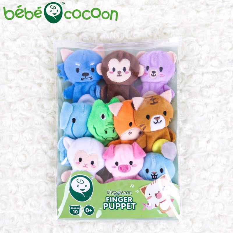 bebecocoon 10 unids / lote juguete de peluche de bebé marionetas de - Muñecas y peluches - foto 5