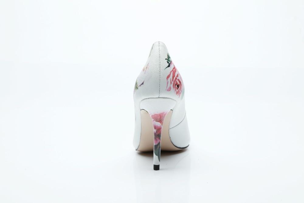 Mujer as Fête Pointu Fleur Talons As Pompes Beertola De Picture Zapatos 3d Imprimer Rose Femmes Strass Populaire Slip Mariage 6cm 10cm Bout Sur Chaussures wqBTCv