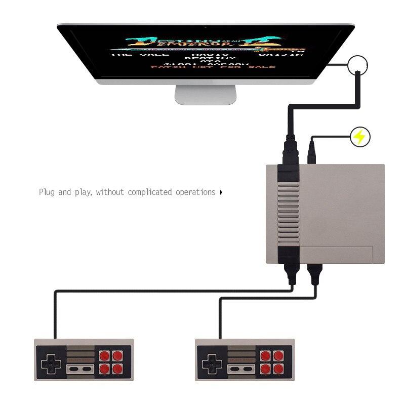 Mini Nintendo TV Game Console 8 Bit Retro Video Game Console Ingebouwd met 620 Games Handheld Gaming Speler Beste Cadeau! 1