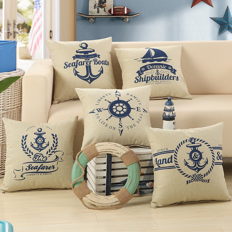 Decorative cushion chair cojines sofa throw pillows vintage pillowcase canvas cushion cover home decor almofadas decorativas