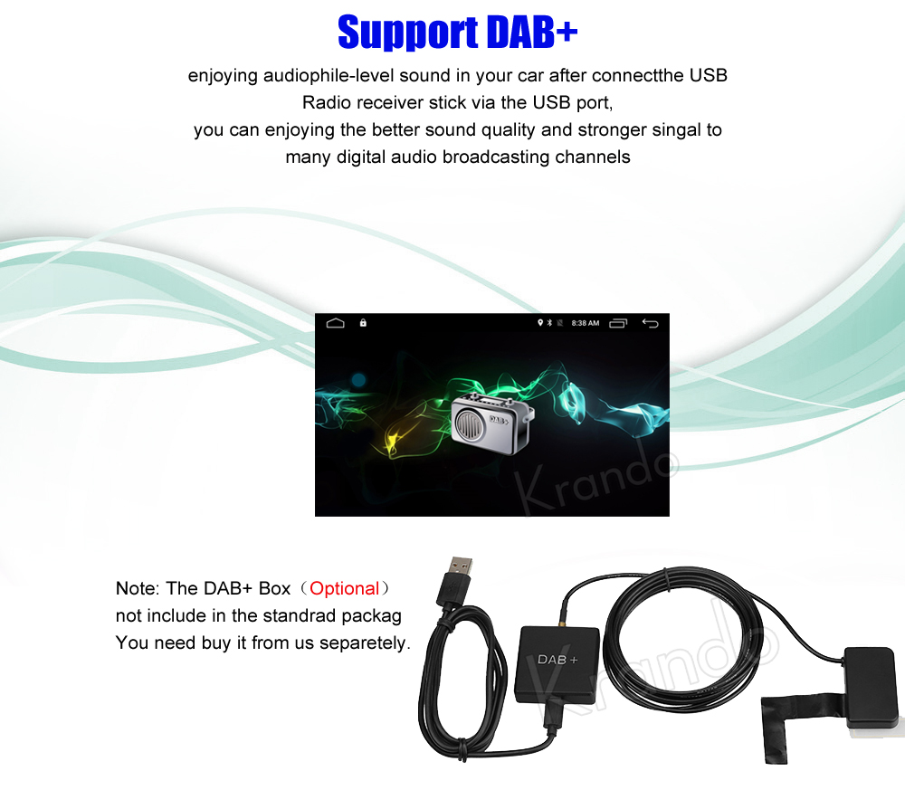 Krando Android 8 1 10 1 car dvd audio radio player navigation gps for  toyota prado 2018 multimedia system playstore bluetooth