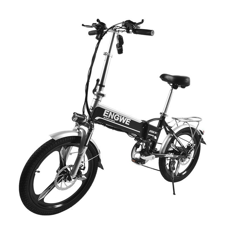 LOVELION MINI bike Folding Electric Bike 48V8A Lithium Battery 20 inch 250 W Powerful Motor Electric Bicycle Scooter city e bike in Electric Bicycle from Sports Entertainment