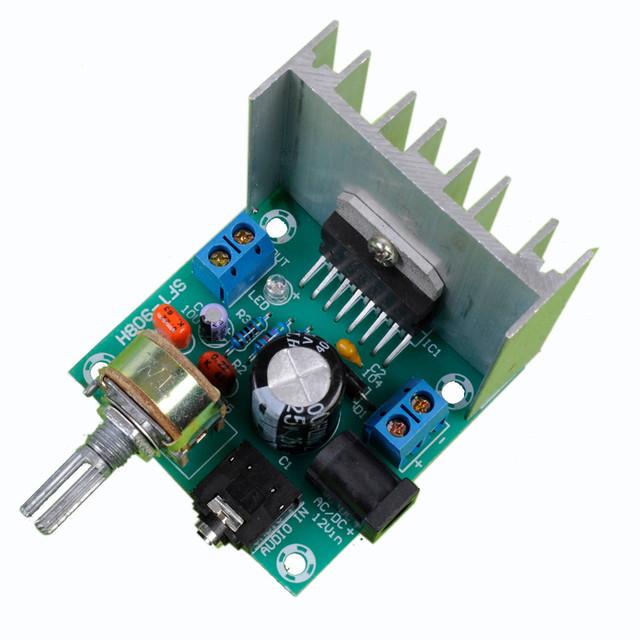 10 pçs/lote placa amplificador digital placa amplificador tda7297 dual-channel placa amplificadora terminou nenhum ruído 12 V dual 15 W (tipo A)