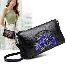 Floral Embroidered Handbag Women Bags Chinese Style National Female Shoulder Bag Ladies Ethnic Designer Messenger Bags tas dames недорго, оригинальная цена