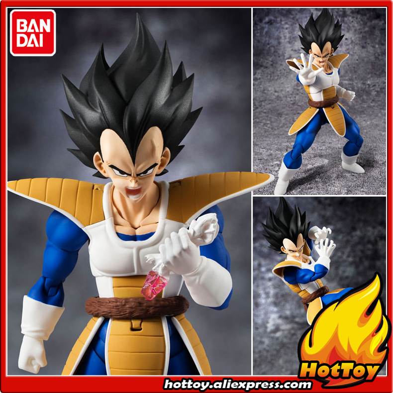 100% Original BANDAI Tamashii Nations S.H.Figuarts (SHF) Action Figure - Vegeta from Dragon Ball Z 100% original bandai tamashii nations buddies no 015 collection figure vegeta from dragon ball z