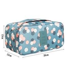 Bra Travel Storage Bags Underwear Lingerie Organizer Pouch Waterproof Socks Towels Zipper Wardrobe Closet Package Accessories