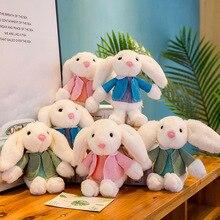 Cute Wear Clothe Rabbit Doll Plush Toys Stuffed Creative Children Toy Girls Birthday Gift 25cm