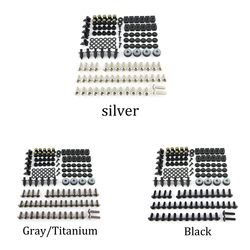 Aliexpress.com : Buy Motorcycle Complete Fairing Bolts Kit