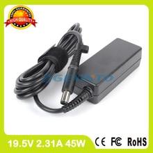 19,5 V 2.31A 45 W adaptador de CA del ordenador portátil 744481-001 744481-002 para HP EliteBook Revolve 810 G1 g2 G3 830 lloguer de Tablet pc cargador