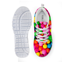 Noisy Designs Sneakers for Girls Children's Sneakers Miraculous Candy Ladybug Printing Fitness Sports Running Kids Shoes Hot