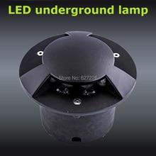 Polarized light 3W LED Underground Ligjht 12V 24V IP65 Waterproof CE ROHS Outdoor Landscape Lighting single color lamp 4PCs/Lot