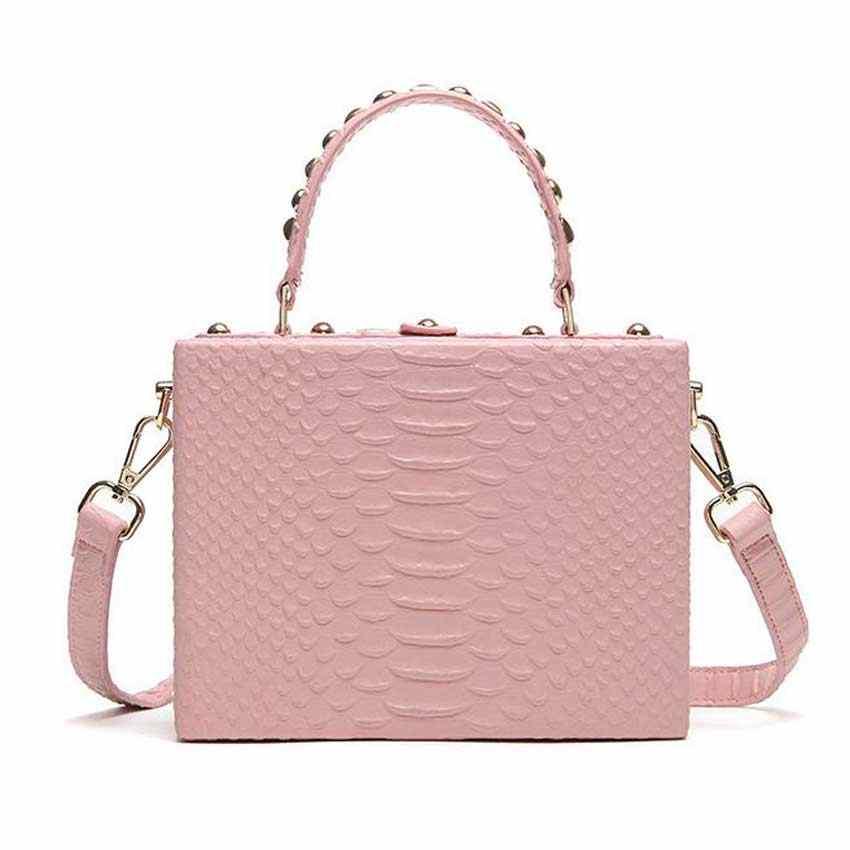 Модный бренд Повседневное Для женщин Сумки на плечо цвет серебристый, Золотой Черная сумка из искусственной кожи Женский Большой сумка дамы руки Сумки SAC розовая сумочка