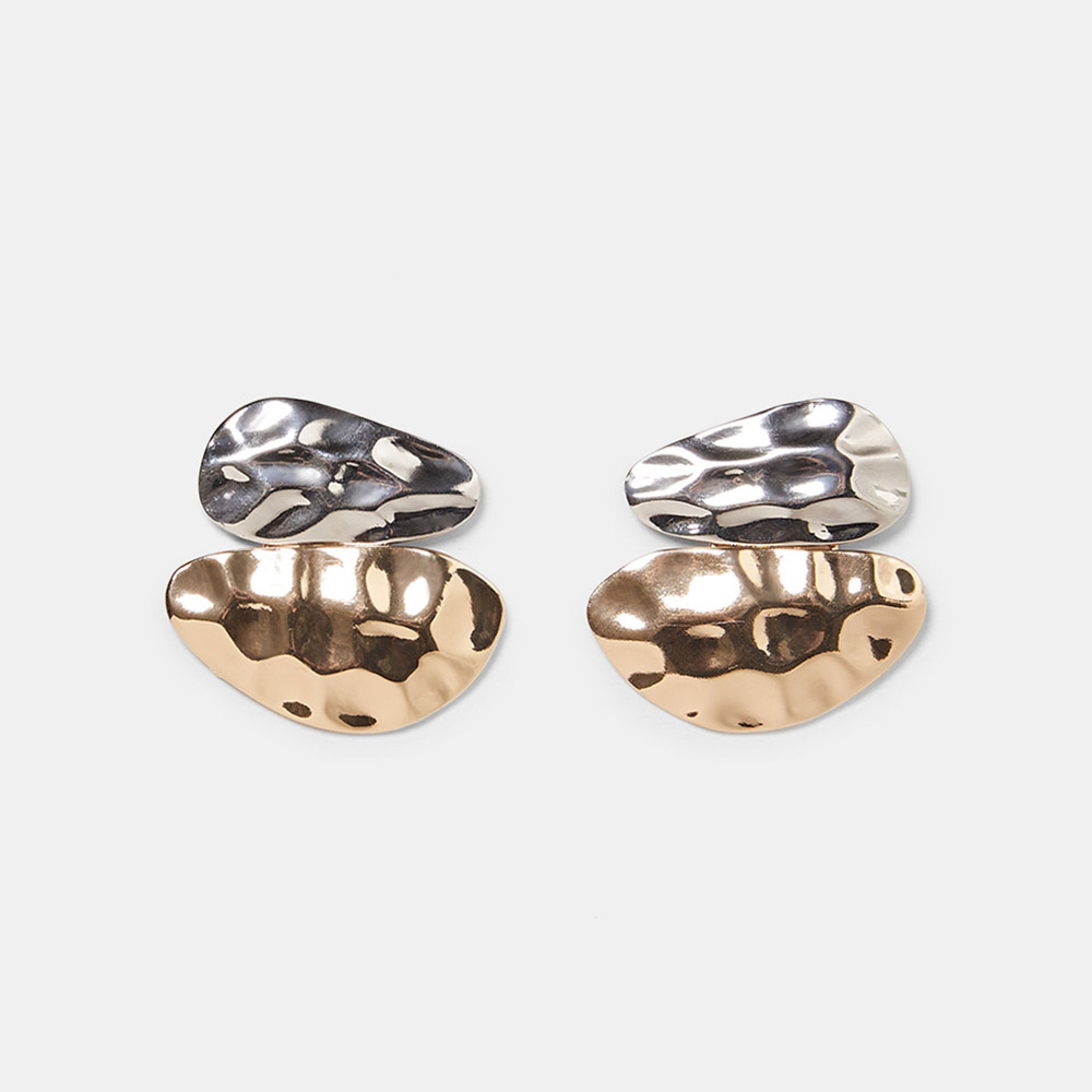 Vintage-Exaggerated-Statement-Metal-Gold-Silver-Stud-Earrings-for-Women-Za-Jewelry-Shell-Brincos-Boucle-D