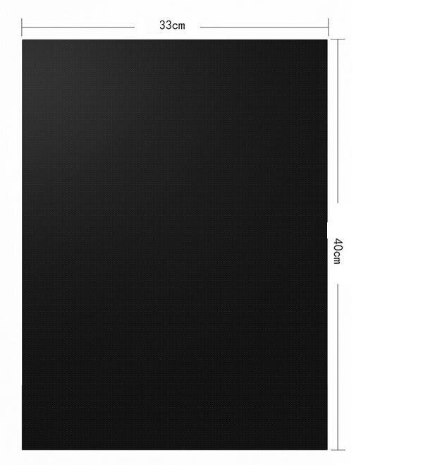 2 stuks Makkelijk Schoon Anti-aanbak BBQ Grill Mat Herbruikbare Pad Sheet Hot Plaat Gereedschap BBQ Accessoires 1