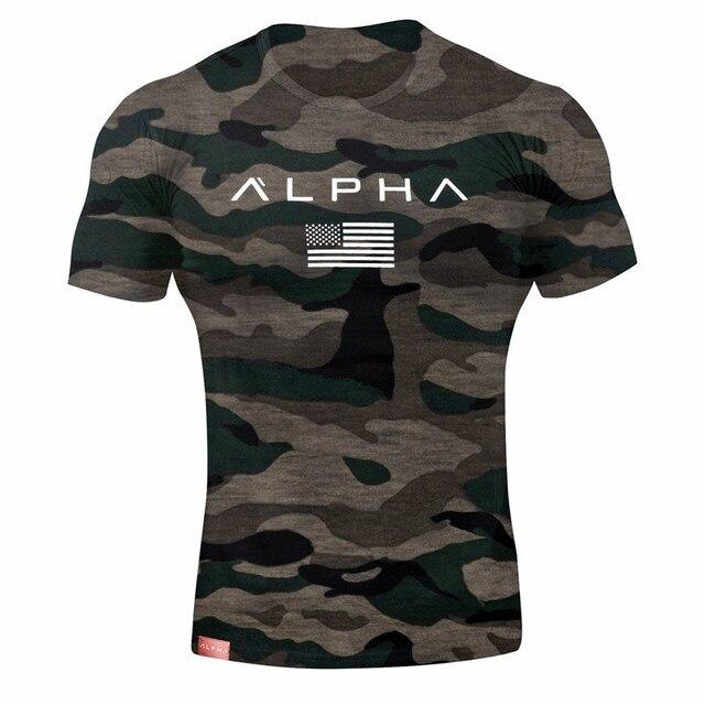 Camouflage Sport Training T-shirt  3