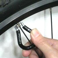 """Trwałe precyzyjnie wielkości Super B TB 5540 profesjonalny czarny klucz do szprych pasuje do 0.127 """"(3.23mm) sutki rower narzędzia do naprawy w Narzędzia do naprawy roweru od Sport i rozrywka na"""