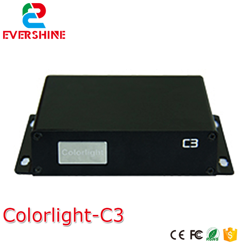 C3 led player full color video led display controller Colorlight Asynchronous sender box onbon player bx yq4 full color control box led display screen controller support multi language and multi area display
