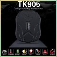 Быстрая доставка! Автомобиль gps трекер TK905 Магнит автомобиля Rastreador 5000 мАч батарея в режиме ожидания 90 дней жизни бесплатная отслеживания/APP