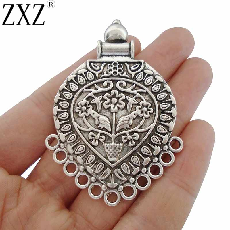 10pcs Silver//Gold Chandelier Boho Earring Multi Strand Connector Charms Pendants