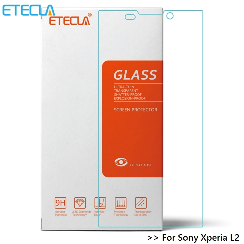 2Pcs For <font><b>Sony</b></font> <font><b>Xperia</b></font> <font><b>L2</b></font> <font><b>Glass</b></font> <font><b>Sony</b></font> <font><b>Xperia</b></font> <font><b>L2</b></font> Tempered <font><b>Glass</b></font> For Soni Experia <font><b>L2</b></font> Screen Protector 0.30mm HD <font><b>Glass</b></font> Film image
