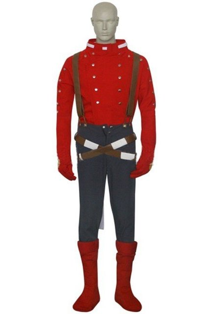 Wholesale Free Shipping Hot Selling Cheapest New Halloween Cosplay Costume CE2202 Tales of Symphonia Lloyd Irving