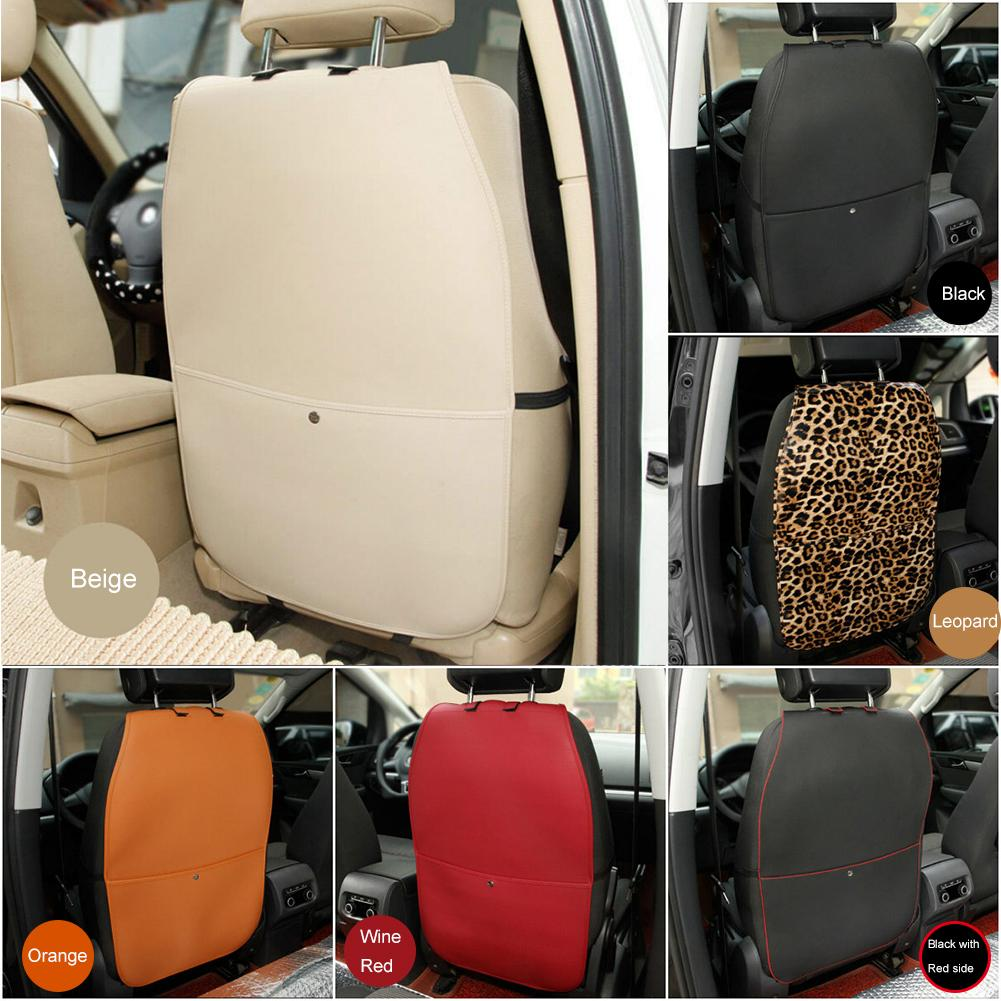 Car Seat Back Cover Protector Anti-kick Clean Mat Back Protector Wear-proof Mat Anti Stepped Dirty Mat For Children