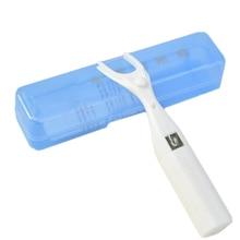 50 м ультра тонкий плоский провод многоразовый стоматологический держатель зубной нити жесткий пластиковый ящик межзубный очиститель с 50 м зубной нитью для гигиены полости рта